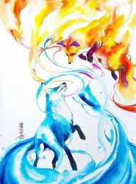 Firefox and icefox