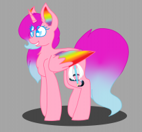 Mina the cute alicorn