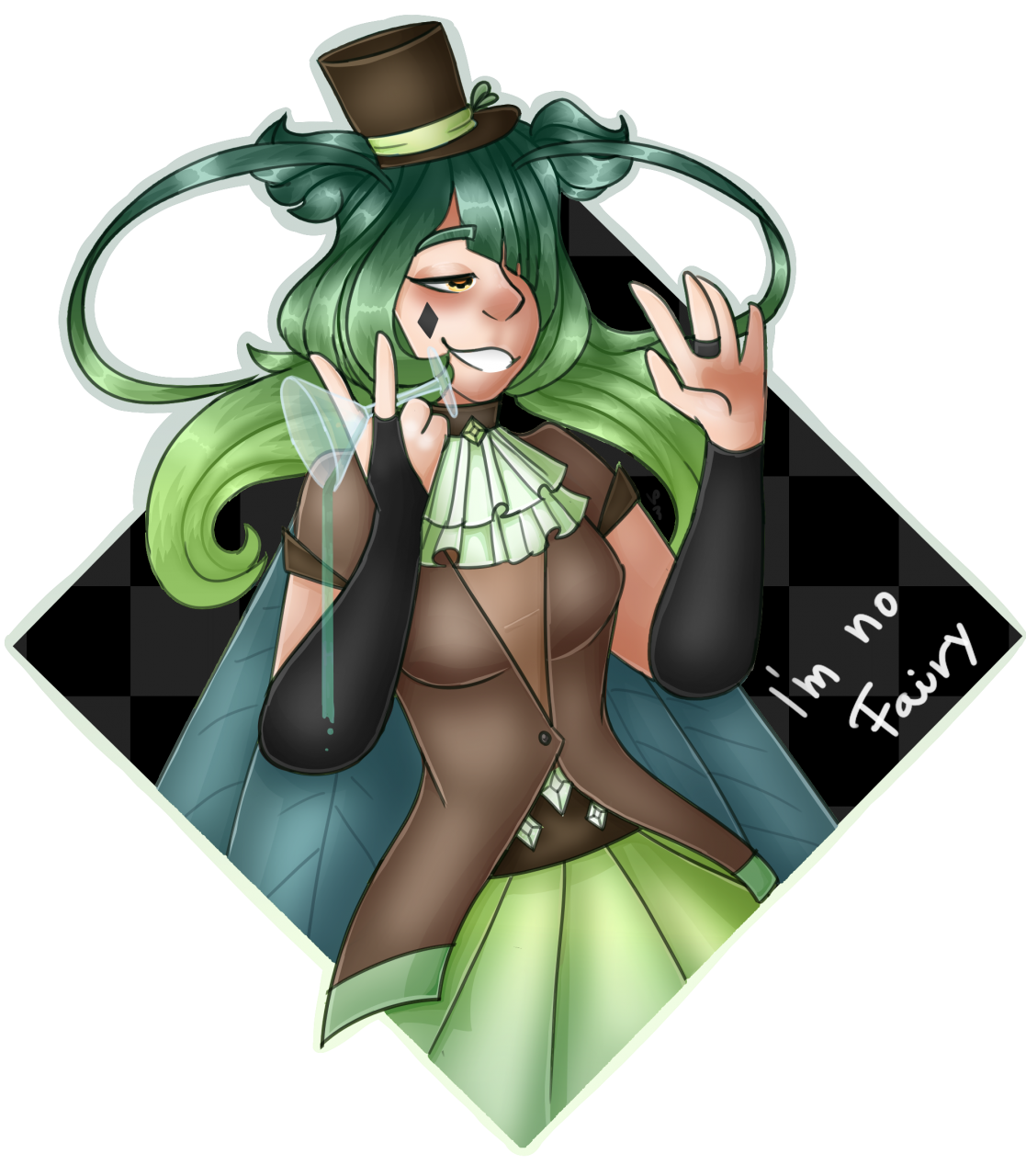 Finally done!<br /> It&#039;s Gin for my Draw this in your style contest :&gt;<br /> The...